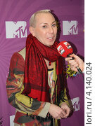 Александр Песков даёт интервью (2011 год). Редакционное фото, фотограф Юлия Ротанина / Фотобанк Лори