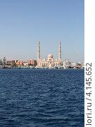 Купить «Мусульманская мечеть на берегу красного моря», фото № 4145652, снято 2 декабря 2012 г. (c) Робул Дмитрий / Фотобанк Лори
