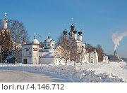 Купить «Великий Устюг зимой», фото № 4146712, снято 21 февраля 2010 г. (c) Татьяна Волгутова / Фотобанк Лори