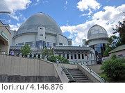 Купить «Московский планетарий, вид со стороны детского зоопарка», эксклюзивное фото № 4146876, снято 27 мая 2011 г. (c) Володина Ольга / Фотобанк Лори