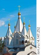 Купить «Завершение храма», эксклюзивное фото № 4147252, снято 22 апреля 2011 г. (c) Зобков Георгий / Фотобанк Лори