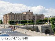 Купить «Стокгольм. Здание парламента Швеции. Риксдаг (Riksdag)», эксклюзивное фото № 4153848, снято 10 августа 2012 г. (c) Александр Щепин / Фотобанк Лори