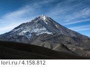 Вулкан Корякская сопка — действующий вулкан Камчатки, фото № 4158812, снято 30 сентября 2012 г. (c) А. А. Пирагис / Фотобанк Лори