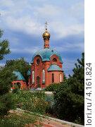 Храм-часовня Святому Николаю. Стоковое фото, фотограф Виктор Карпов / Фотобанк Лори