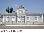 Старинный деревянный дом в Коломенском кремле (2010 год). Стоковое фото, фотограф Dmitriy Semyonov / Фотобанк Лори