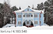Купить «Усадьба Щелыково. Резиденция Снегурочки», фото № 4183540, снято 29 января 2011 г. (c) Анна Маркова / Фотобанк Лори
