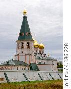 Купить «Иверский мужской монастырь,  Валдай, Россия», фото № 4186228, снято 25 августа 2012 г. (c) Ласточкин Евгений / Фотобанк Лори