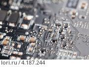 Компьютерные платы, микрочипы, фото № 4187244, снято 11 января 2013 г. (c) Архипова Мария / Фотобанк Лори