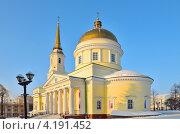 Александро-Невский кафедральный собор, Ижевск (2013 год). Стоковое фото, фотограф Agnes Chvankova / Фотобанк Лори