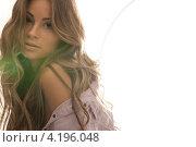 Купить «Очаровательная девушка с длинными русыми волосами», фото № 4196048, снято 14 августа 2010 г. (c) Syda Productions / Фотобанк Лори