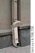 Купить «Старая водосточная труба», эксклюзивное фото № 4198728, снято 24 августа 2012 г. (c) Wanda / Фотобанк Лори