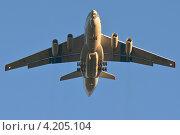 Ил 76 в полете (2012 год). Редакционное фото, фотограф Сергей Тюрин / Фотобанк Лори