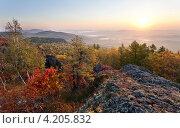 Осень на Южном Урале. Стоковое фото, фотограф Евгений Прокофьев / Фотобанк Лори