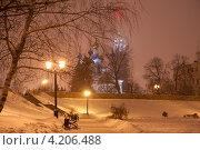 Купить «Ночной Тамбов», фото № 4206488, снято 19 января 2013 г. (c) Карелин Д.А. / Фотобанк Лори
