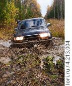 Купить «Трофи-рейд  по уральским болотам», фото № 4213004, снято 22 сентября 2012 г. (c) Евгений Ткачёв / Фотобанк Лори