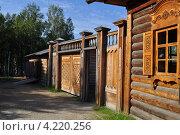 Купить «Музей тальцы иркутск», фото № 4220256, снято 11 августа 2012 г. (c) Шумилов Владимир / Фотобанк Лори