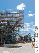 Реконструкция дороги. Стоковое фото, фотограф Кропотов Лев / Фотобанк Лори