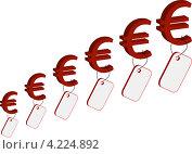 Евро. Стоковая иллюстрация, иллюстратор Юлия Литавая / Фотобанк Лори