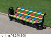 Скамейка для отдыха. Стоковое фото, фотограф Павел Спирин / Фотобанк Лори