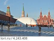 Купить «Красная площадь, Кремль, Москва», эксклюзивное фото № 4243408, снято 26 января 2013 г. (c) lana1501 / Фотобанк Лори
