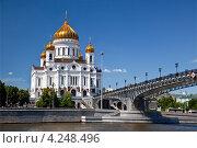 Купить «Храм Христа Спасителя», фото № 4248496, снято 17 июня 2012 г. (c) Наталья Волкова / Фотобанк Лори