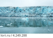 Ледник Эсмарка, Шпицберген. Стоковое фото, фотограф Наталия Давидович / Фотобанк Лори