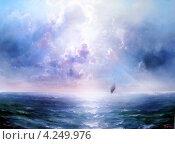 Морской простор. Стоковое фото, фотограф Якименко Сергей / Фотобанк Лори