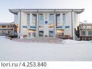 Купить «Академия биатлона в Красноярске», эксклюзивное фото № 4253840, снято 11 декабря 2011 г. (c) Шичкина Антонина / Фотобанк Лори