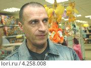 Купить «Актер театра и кино Александр Дедюшко», фото № 4258008, снято 14 января 2006 г. (c) Александр С. Курбатов / Фотобанк Лори