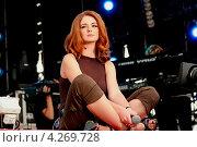 """Певица Лена Катина группа """"Тату"""" (2006 год). Редакционное фото, фотограф Андрей Дегтярёв / Фотобанк Лори"""