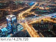 Вечерний вид на улицы и здания Москвы (2012 год). Стоковое фото, фотограф Сергей Алимов / Фотобанк Лори
