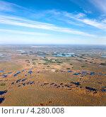 Купить «Болотистая равнина в Западной Сибири», фото № 4280008, снято 19 мая 2012 г. (c) Владимир Мельников / Фотобанк Лори