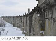 Мокринский мост. Стоковое фото, фотограф Евгений Степанов / Фотобанк Лори
