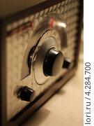 Купить «Ретро радио», фото № 4284700, снято 28 января 2020 г. (c) Yaroslav Pyrizhok / Фотобанк Лори