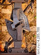 Железнодорожная сцепка. Стоковое фото, фотограф Константин Лабунский / Фотобанк Лори