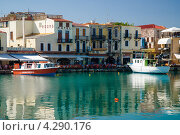 Венецианская гавань в Ретимно (2007 год). Редакционное фото, фотограф Dmitry Abezgauz / Фотобанк Лори