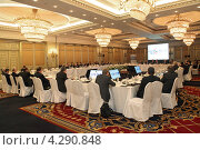 Купить «Встреча министров финансов и глав центральных банков группы G20, отель Ritz-Carlton, Москва», фото № 4290848, снято 15 февраля 2013 г. (c) Игорь Долгов / Фотобанк Лори