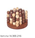 Деревянный пазл-головоломка. Стоковое фото, фотограф Михаил Балберов / Фотобанк Лори