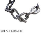 Купить «Звенья цепи», фото № 4305848, снято 20 июня 2008 г. (c) Parmenov Pavel / Фотобанк Лори