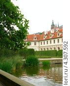 Валленштейнский дворец (2008 год). Стоковое фото, фотограф Дарья Колесникова / Фотобанк Лори