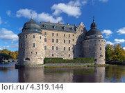 Замок в Эребру, Швеция (2012 год). Стоковое фото, фотограф Михаил Марковский / Фотобанк Лори