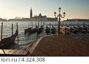 Купить «Вид на Собор Сан-Джорджо Маджоре ранним утром. Венеция», фото № 4324308, снято 27 ноября 2010 г. (c) Victoria Demidova / Фотобанк Лори