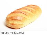 Купить «Батон белого хлеба», эксклюзивное фото № 4330072, снято 25 февраля 2013 г. (c) Яна Королёва / Фотобанк Лори