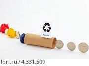 Отходы превращаются в деньги после переработки. Стоковое фото, фотограф Николай Овечко / Фотобанк Лори