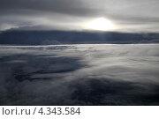Вид неба с самолета. Стоковое фото, фотограф Ольга Герасимова / Фотобанк Лори
