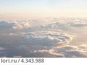 Купить «Небо. Небесный пейзаж с облаками», фото № 4343988, снято 29 ноября 2011 г. (c) Ирина Геращенко / Фотобанк Лори