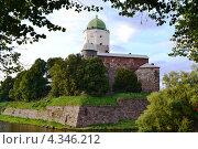 Выборгский замок (2012 год). Редакционное фото, фотограф Виктор Бартенев / Фотобанк Лори