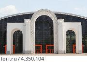 Купить «Старый Главный вход на территорию ВВЦ (ВСХВ, ВДНХ)», эксклюзивное фото № 4350104, снято 17 мая 2012 г. (c) Алёшина Оксана / Фотобанк Лори