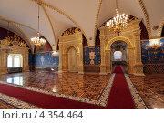 Московский Кремль, Грановитая палата, Святые Сени (2013 год). Редакционное фото, фотограф Игорь Долгов / Фотобанк Лори