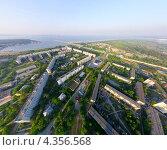 Купить «Академгородок (Новосибирск) с вертолета», фото № 4356568, снято 23 июня 2012 г. (c) Александр Маркин / Фотобанк Лори